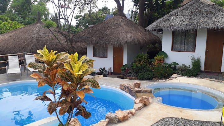 Garden Bungalow at Pirates, Boutique Diving Resort