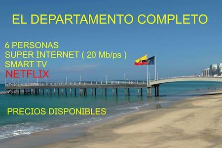 Comfortable APARTMENT in Salinas-Wi-Fi&Parking