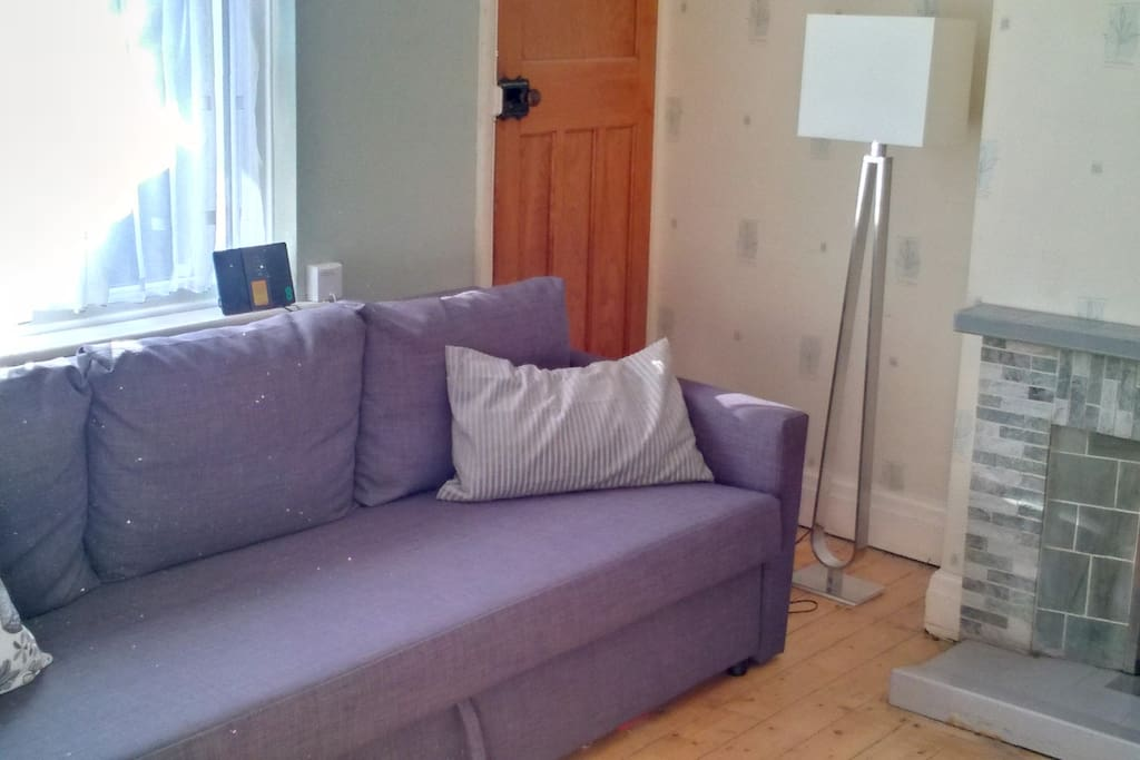 Livingroom/Bedroom (sofa can convert to a double bed)