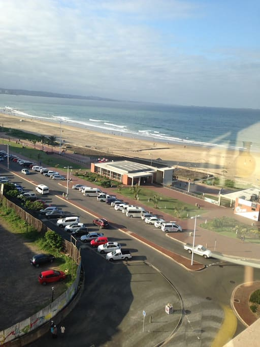 View from Apartment - Surf Riders Cafe & Surf Shop