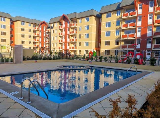 departamento nuevo amoblado con piscina