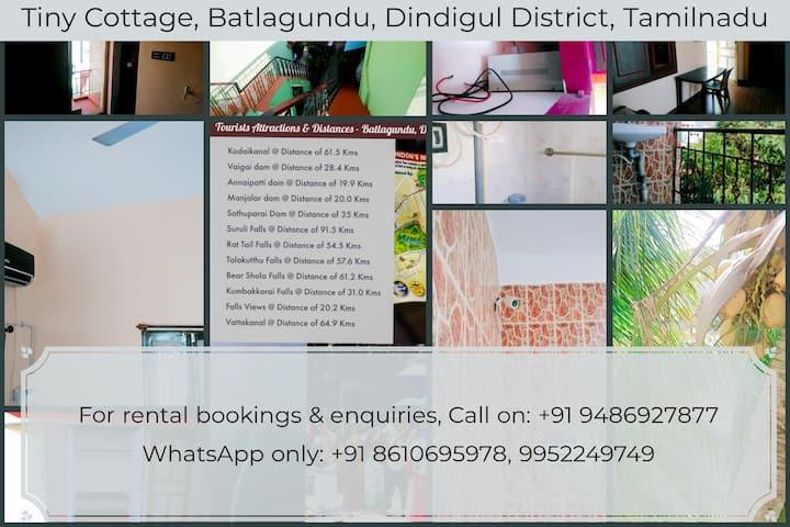 Tiny Cottage - Batlagundu, Dindigul District