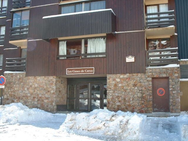 Appartement au pied des pistes - val thorens - Apartmen