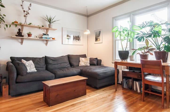 Large and cozy apartment - Montréal - Leilighet