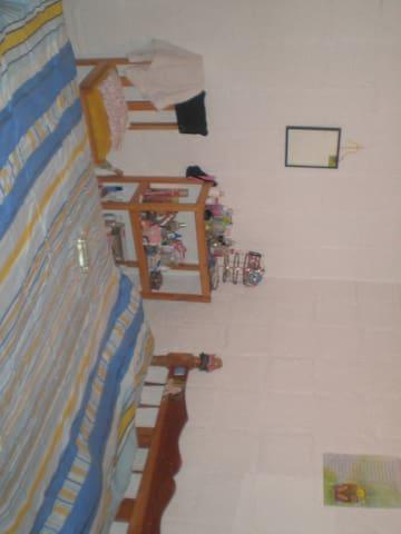pequeño cuarto con confort