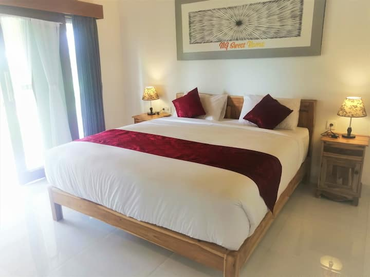 New Perfect Spot Bungalow, big pool Nusa in Penida