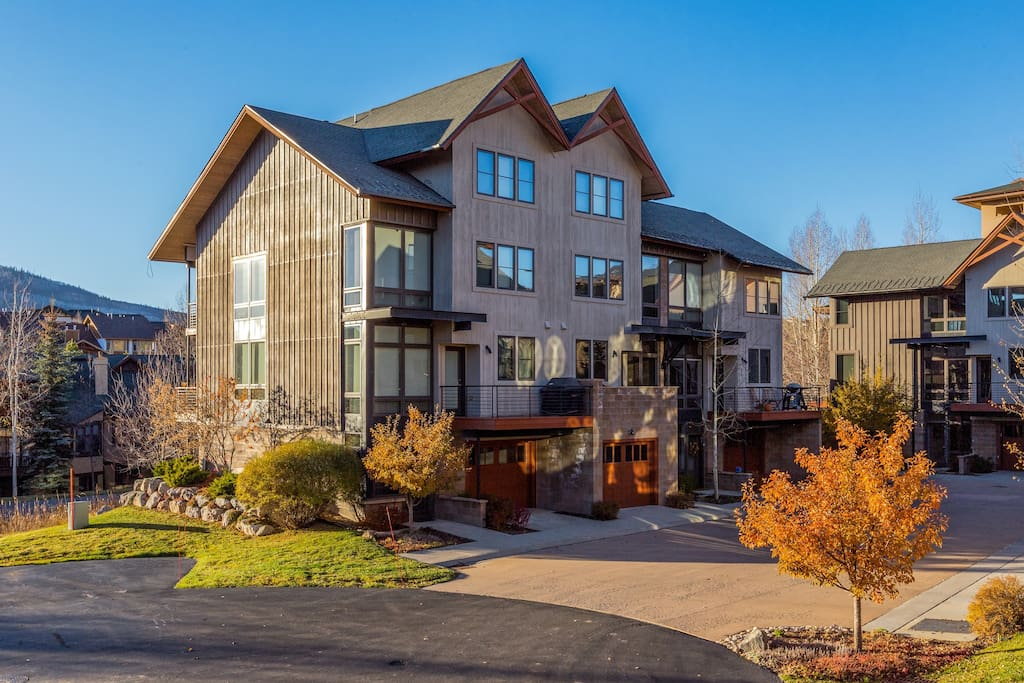 Be minutes from the slopes in this elegant townhome.