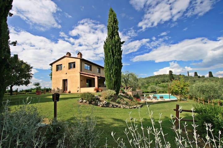 Dolcevita - Stunning views over the Chianti hills - Certaldo - Vila