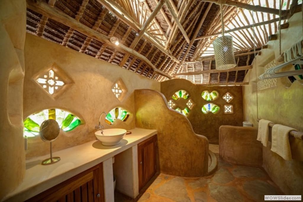 Classic unique Bathroom designed by Sabine of Funzi Furniture