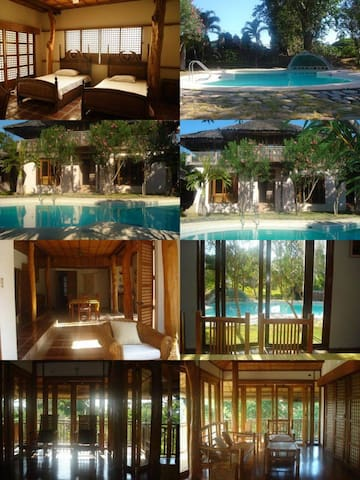 Woody Calatagan Beach House - Batangas - Casa