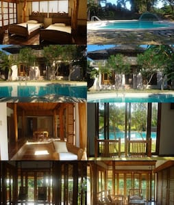 Woody Calatagan Beach House - Batangas - House