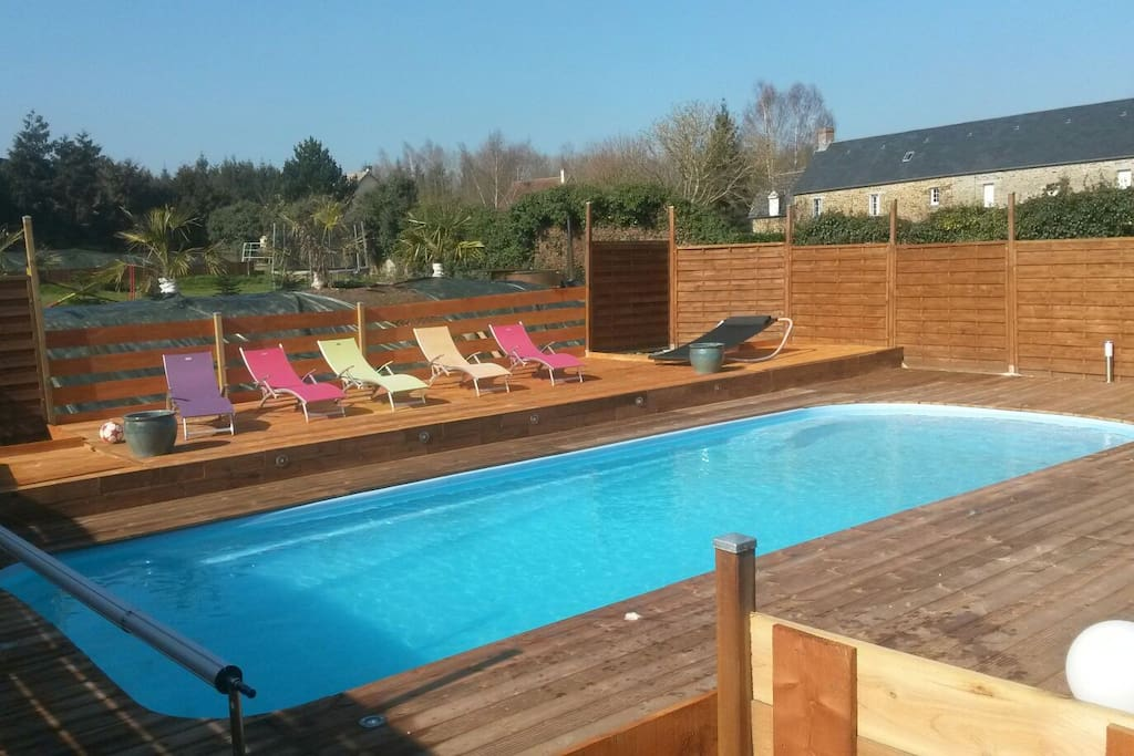chambre priv e piscine chauff e houses for rent in cond