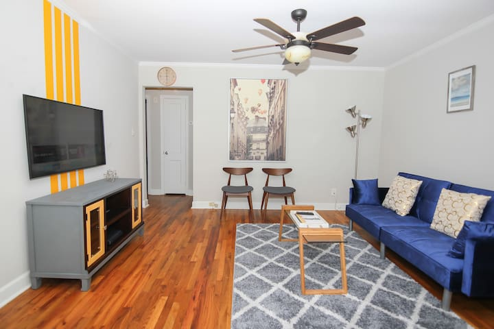 Charming home in Plaza Midwood- 10 min to Downtown