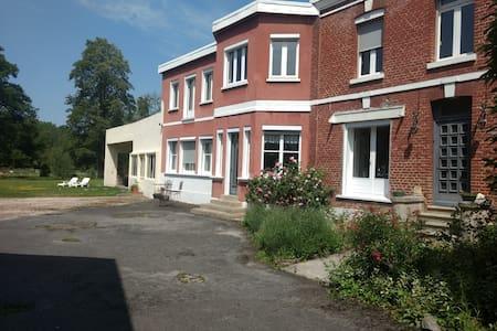 Boves centre 10mn Amiens, dans belle maison calme