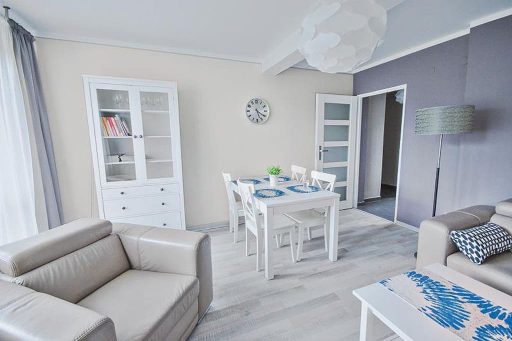 Apartament Widokowy - Salon