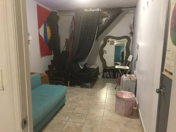 Studio Style Basement in Shared Apartment