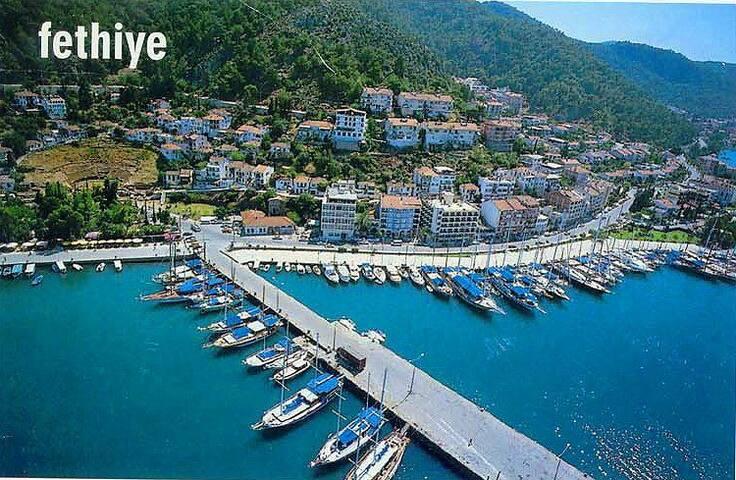 5 Yıldızlı Denize Sıfır Yazlıklrda Tatil Keyfi - Fethiye - Apartament