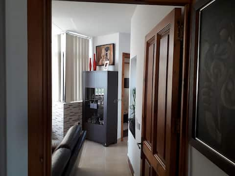 Modern furnished entire one bedroom apartment