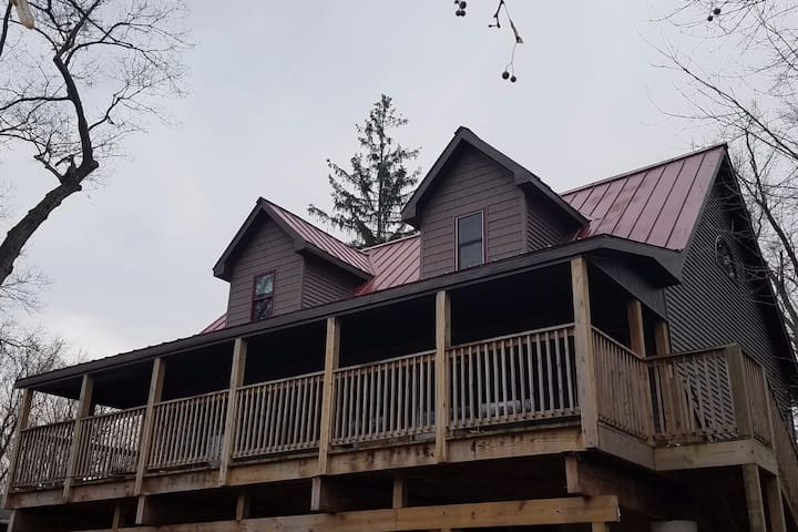 Gorgeous fishing kayaking lodge Susquehanna river! - Falls - Hus