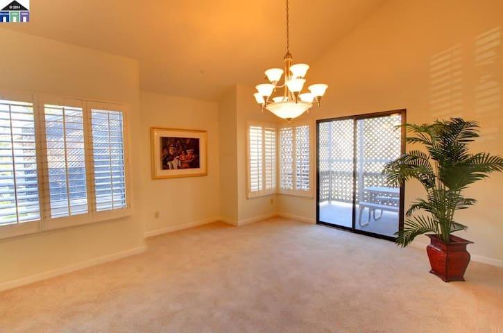 Warm, Cozy Room in  Walnut Creek - Walnut Creek - Apartamento