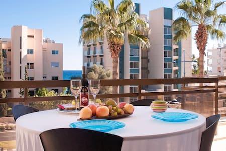 Sea View Apartment - Agios Tychon - Apartamento