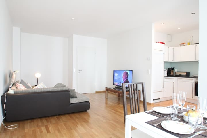 ※Brand NEW ※ Luxury 2 BR ※ FREE Parking ※ CENTER ※ - Monaco - Condominio