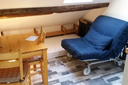 Tennenhöhle, Miniwohnung im Haus am Burggraben - Krummhörn - Pis