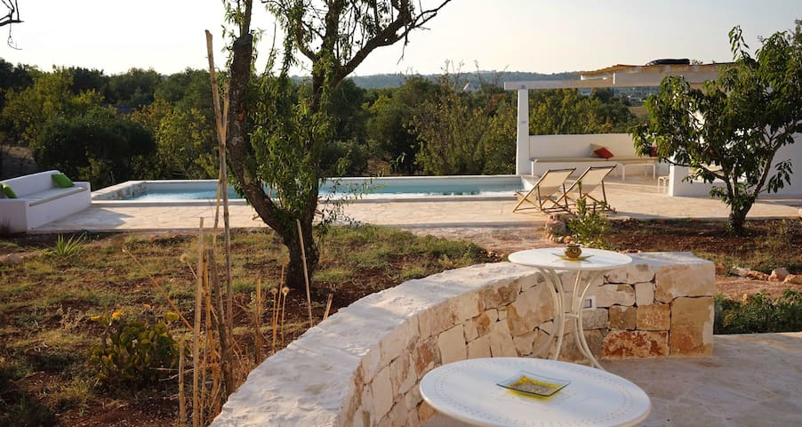 Manor House-Trullo in stone with swimming pool - Ostuni - Villa