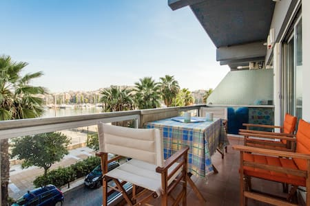 Great View apartment with 2 bedrooms in Marina - Pireas