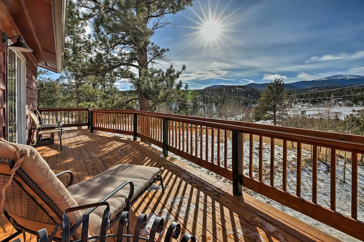 NEW! 4BR Bailey Home on a Sunny Meadow w/Mtn Views