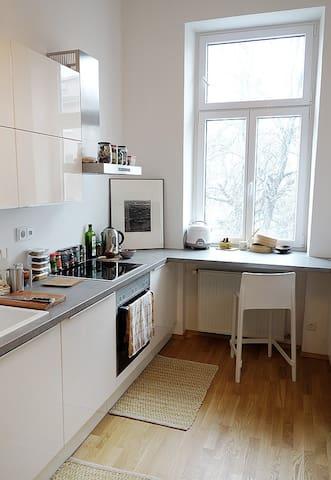 Lichtdurchflutete schöne zentrale Wohnung - Wien - Flat