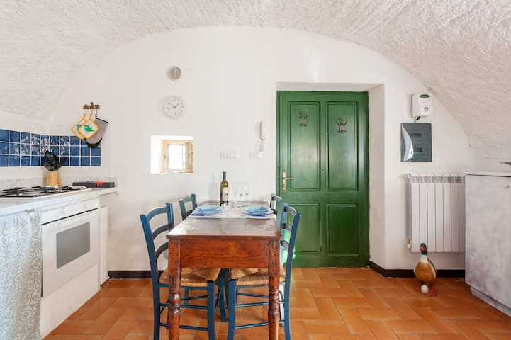 Rustico Dolce Wi-Fi and garden in Olive Grove - Lerici - Appartement