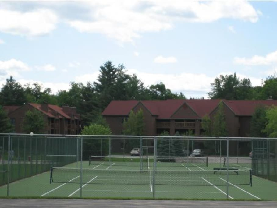 Outdoor tennis courts are also offered so bring your racquet!