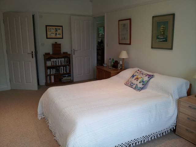 Large double room with private en-suite.