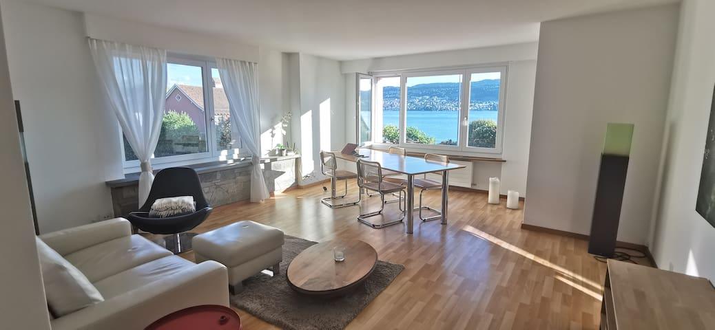 Einzelzimmer direkt am Zürichsee
