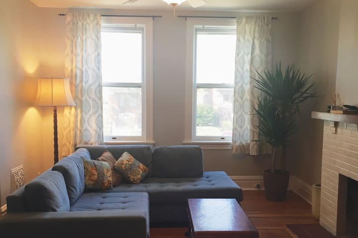 Clean, cozy home in Tower Grove South