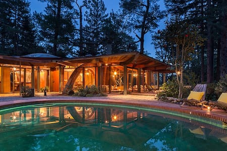 Midcentury Architectural Masterpiece in Redwoods - Mill Valley - Haus