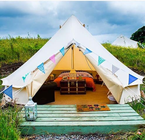 Skye Eco Bells Glamping - Cuillin Bell Tent