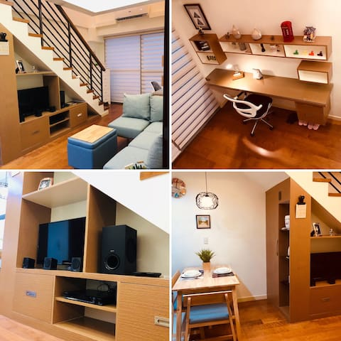 Cozy, Private Loft , fronting Greenbelt Makati