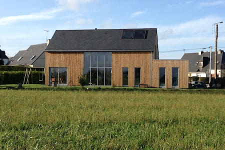 Maison écologique en bois proche de la mer - Pordic