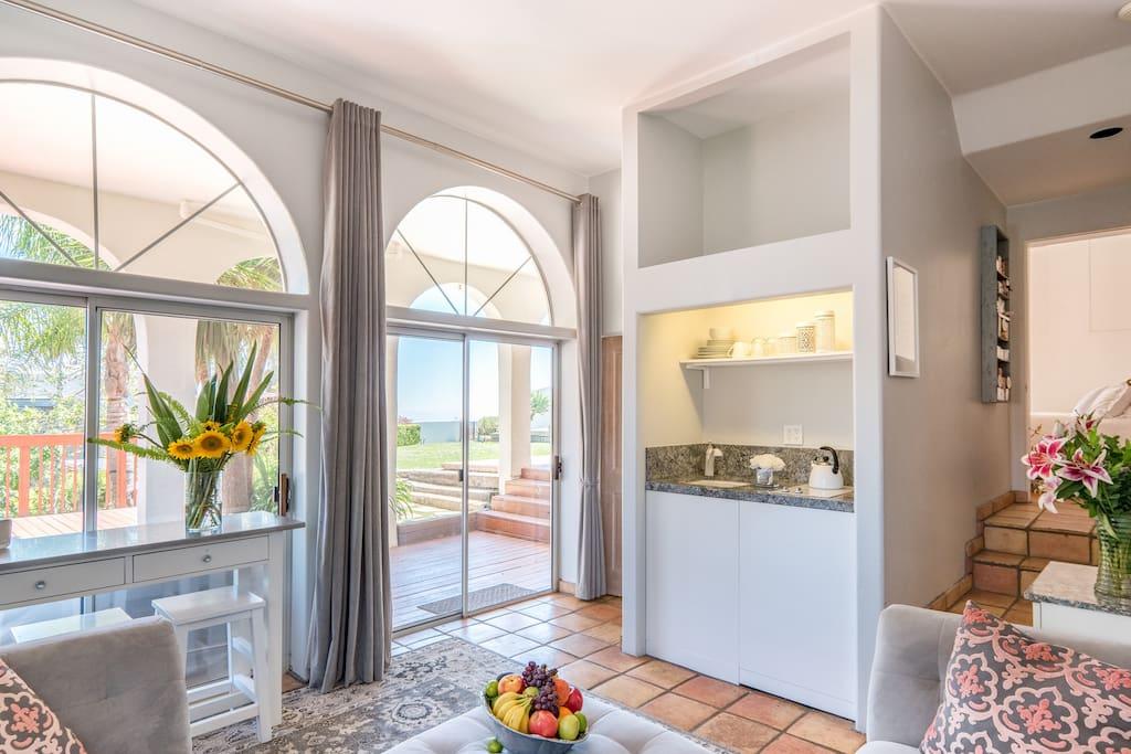 Ocean view private 2 br guest apt suite degli ospiti in for Piani casa degli ospiti