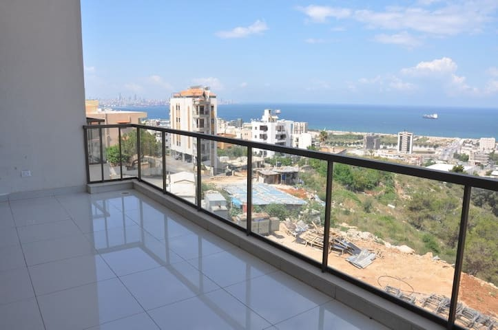 Dbaye's magical duplex with breathtaking sea view