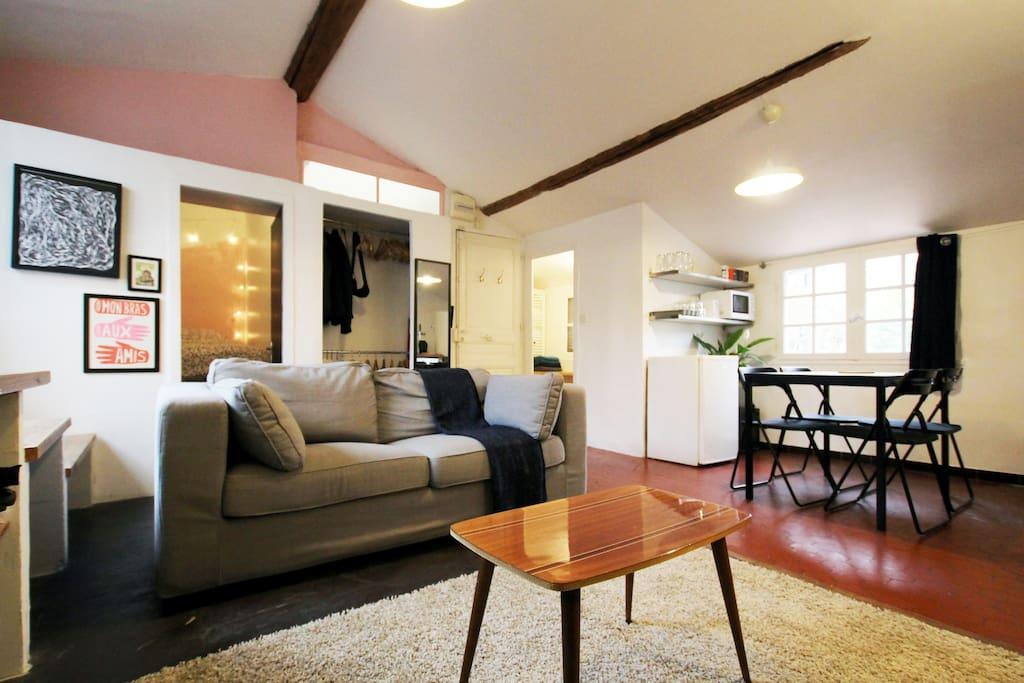 T3 avec terrasse en plein centre appartements louer for Location appartement marseille terrasse en ville