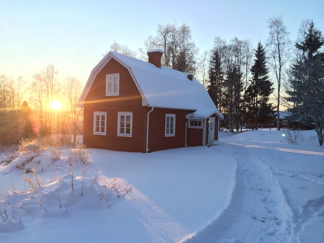 Charming cottage in Järvsö, close to ski field