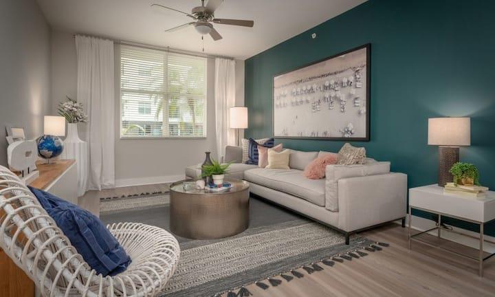 All-inclusive apartment home | 1BR in Pompano