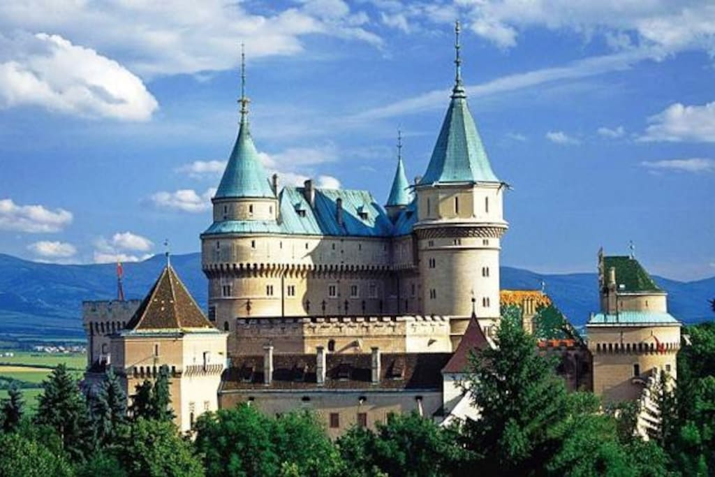 Bojnice castle - the most visiting castle in Slovakia