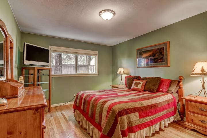 2BR's in Updated House w/Private Bath & Hot Tub!