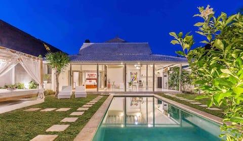 Charming&Romantic 1bd villa Alegria near beach