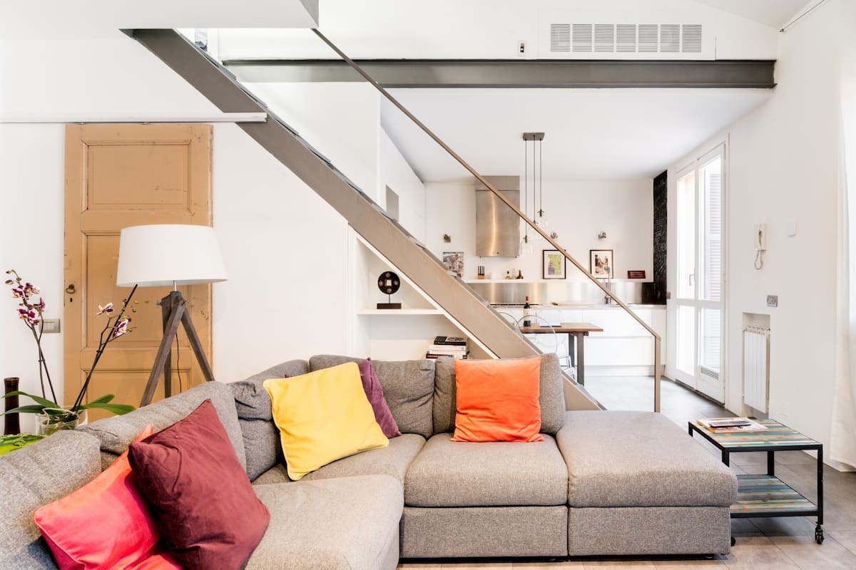 Stroll to Bocconi University from an Industrial Chic Loft