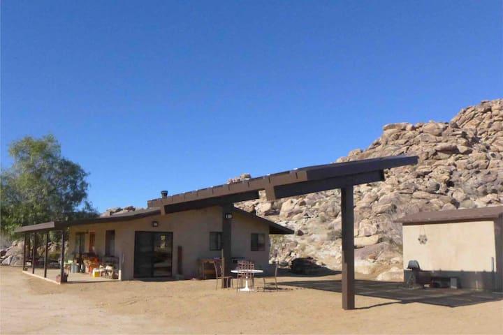 Solar powered private artist retreat.